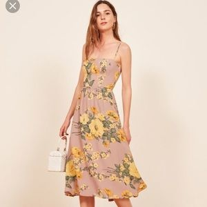 Reformation rosehip Dress